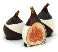 Double Dipped Fresh Black Mission Figs
