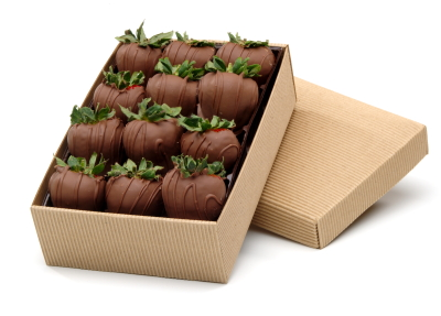 Everyday Milk Chocolate Strawberry Collection 12ct